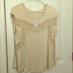 Maurice's Beige Blouse